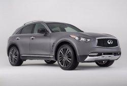 Infiniti QX70 Limited, el restyling del SUV estará en Nueva York