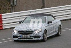 Un último vistazo 'furtivo' al Mercedes-AMG C63 Cabrio antes de su debut