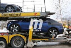 Nuevas imágenes del Mercedes GLC Coupe en fotos espía