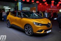 Renault Scénic 2016, debuta el renovado monovolumen compacto