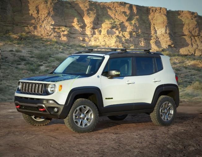 El Jeep Renegade Commander es lo más cercano a un modelo de producción dentro de estos siete prototipos presentados con motivo del Easter Jeep Safari 2016.