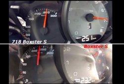 Duelo de generaciones: Porsche 718 Boxster S vs Boxster S 981