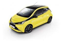 Nuevo Toyota AYGO x-cite, ahora con el amarillo como protagonista