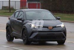 Cazado el Toyota C-HR en su versión norteamericana