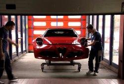 Así es como se ensambla un Alfa Romeo 4C a mano