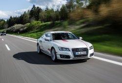 El Audi A7 autónomo muestra sus avances en la autopista alemana
