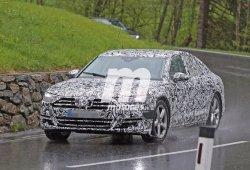 El nuevo Audi A8 2017, cazado por primera vez