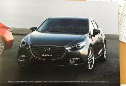 Mazda3 2017, primera imagen filtrada