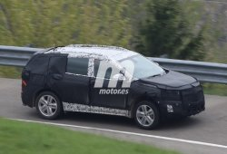 Opel Antara 2017, fotos espía de su desarrollo