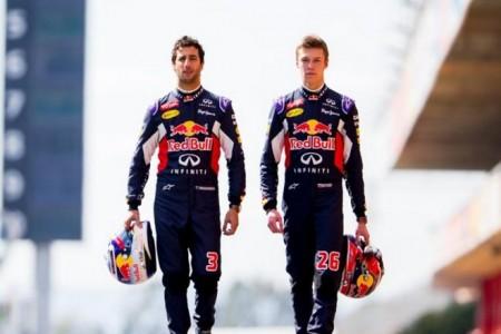 """Kvyat cree que habría vuelto a batir a Ricciardo: """"Lo hice todo bien"""""""