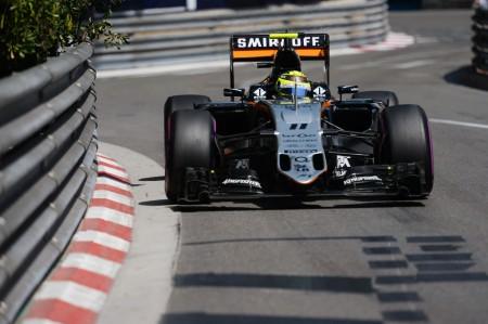 Brillante podio para Sergio Pérez en Mónaco