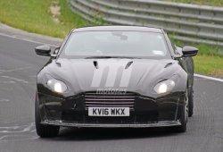El futuro Aston Martin Vantage 2018 ya se deja ver rodando por el ring