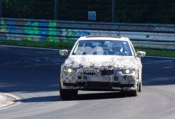 Nuevo BMW Serie 3 G20, cazado en Nürburgring