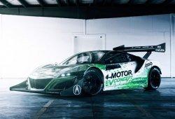 Honda NSX 4-Motor EV, un prototipo eléctrico que competirá en Pikes Peak 2016