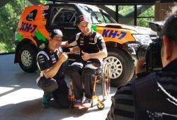Isidre Esteve regresa al Dakar con un Mitsubishi Montero
