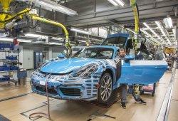 El nuevo Porsche 718 Cayman inicia su producción: será fabricado en Zuffenhausen