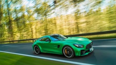 Así fue la presentación del Mercedes-AMG GT R, un evento por todo lo alto