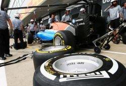 Alineación de pilotos del test de Fórmula 1 en Silverstone