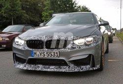 BMW M4 Coupe 2017, primeras fotos espía de su 'facelift': ¿qué novedades tendrá?