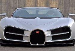 Así es el diseño original del Bugatti Chiron que fue descartado