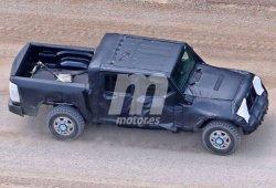 El Jeep Wrangler Pick-Up 2018 ya pisa el asfalto y la tierra