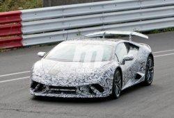 El Lamborghini Huracán Superleggera empieza con las pruebas de circuito