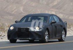 El nuevo Lexus LS está en camino: descubre más detalles con estas fotos espía