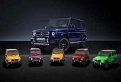 Mercedes-AMG G63 Crazy Colours: añade color a tu oficina con estas maquetas