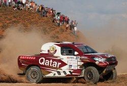 Nasser Al-Attiyah remonta y gana la Baja Aragón 2016