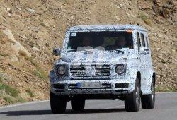 El nuevo Mercedes Clase G sigue su puesta a punto de cara al año que viene