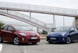 Toyota Prius 4g contra Toyota Prius 3g, exterior e interior (I)