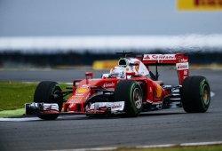 Decepcionante carrera de Ferrari en Gran Bretaña