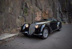A subasta un Alfa Romeo 8C 2900B Lungo Spider de 1939 por Carrozzeria Touring