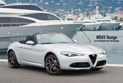 Alfa Romeo Spider 2017: así sería un descapotable basado en el Alfa Giulia