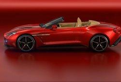 Aston Martin presenta el nuevo Vanquish Zagato Volante de edición limitada