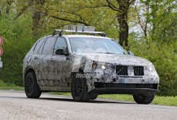 El BMW X5 2018 se deja ver una vez más en su etapa de desarrollo
