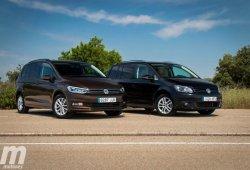 Comparativa Volkswagen Touran, lo nuevo frente a lo viejo ¿Cuál será mejor?