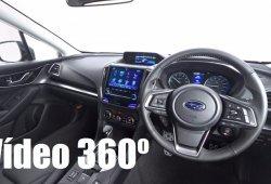 El interior del nuevo Subaru Impreza 2017 en un vídeo de 360 grados