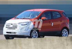 El Ford Ecosport 2017 pierde camuflaje y nos enseña su nuevo morro