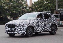 Mazda CX-5 2018, primeras fotos espía