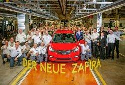 El nuevo Opel Zafira inicia su producción en Rüsselsheim