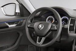Skoda Kodiaq: el interior de este nuevo SUV se descubre por completo
