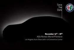 El Alfa Romeo Stelvio debutará en el Salón de Los Ángeles 2016