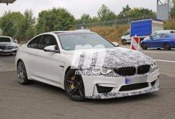 El BMW M4 2017 visto de cerca en estas nuevas fotos espía