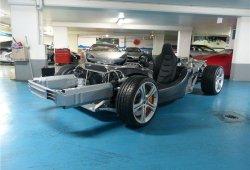 ¿Qué harías con este chasis de McLaren MP4-12C?