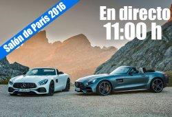 Salón de París 2016: las novedades Mercedes-Benz en directo