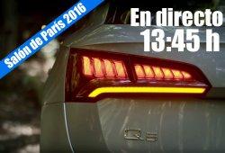 Salón de París 2016: las novedades de Audi en directo