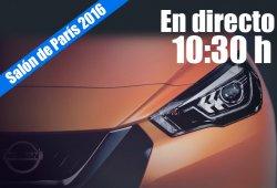 Salón de París 2016: las novedades de Nissan en directo