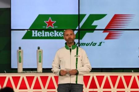 Heineken celebra la llegada de Liberty Media a la F1