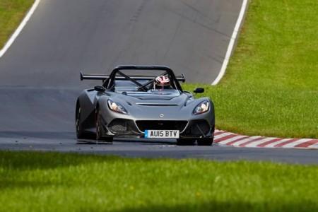 Lotus 3-Eleven, adelantamientos por doquier en Nürburgring